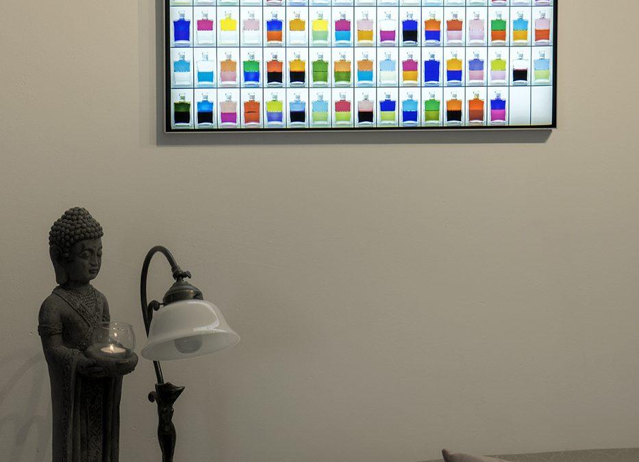 LED Leuchtposter