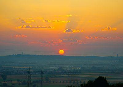 Sonnenaufgang-Sindelfingen